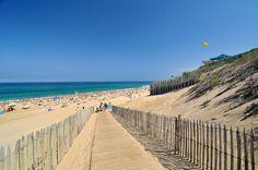 La plage de Labenne-Océan © Office de Tourisme de Labenne-G. Gaury