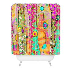Ingrid Padilla Layers Of Whimsy Shower Curtain | DENY Designs Home Accessories
