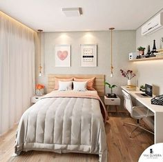 Bedroom Decor For Teen Girls, Room Ideas Bedroom, Bedroom Layouts, Small Room Bedroom, Home Decor Bedroom, Modern Teen Bedrooms, Tiny Bedroom Design, Small Room Design, Girl Bedroom Designs