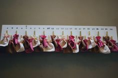 Advent calendar by PicklePantsClothing on Etsy