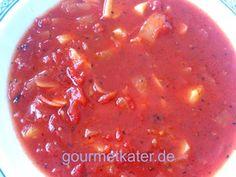 Meine schnelle Tomatensuppe