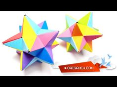 Origami Stars, Paper Size, Cubes, Dads, Youtube, Art, Paper, Fathers, Youtubers