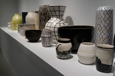 Ceramic work by Shio Kusaka at the Whitney Biennial (photo by Jillian Steinhauer) Sterling Ruby, Young Art, Visual Diary, Contemporary Ceramics, New Pins, Ceramic Art, Bella, Pots, Sculptures
