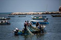 Palestinian fishermen brought to Israeli court