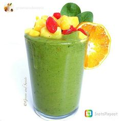 repost via @instarepost20 from @greensandsweets Green Tropical Smoothie #breakfast #smoothie Bananas, mango, pinapple, papaya, goji berries, peaches, spinach and water.  #BreakfastSmoothie #fruits #veggies #EatClean #RAWFood #vegan #paleo #Good4You #nutritional #TasteGreat #NaturallySweet #smoothie #greens #vegetarian #AllNatural #MadeByYou #NaturesFood #NoJunk #antioxidants #MakeYourOwn #KnowYourIngredients #SuperFoods #NaturalVitamins