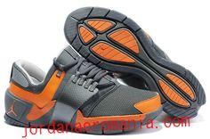 Acheter Chaussures Jordan Alpha Trunner Cool Gris/Orange |JordanAeroMania. com