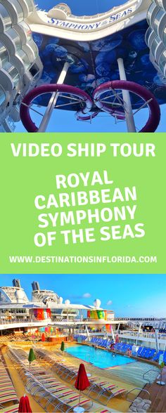 The World's Largest Cruise ship is amazing! Check out a tour of the brand new Symphony of the Seas. This is Royal Caribbean's newest ship. Cruise Checklist, Cruise Tips, Cruise Travel, Florida Vacation, Cruise Vacation, Top Family Vacations, Family Travel, Princess Cruises Caribbean, Symphony Of The Seas