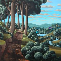 Past the Beeches contemporary Irish Paintings. View all George CALLAGHAN art and Irish artwork at Red Rag art gallery. Art Gallery, Haitian Art, Landscape Paintings, Contemporary Artists, Naive Art, Illustration Art, Art, Irish Art, Landscape Art
