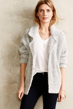 Boucle Sweater Jacket