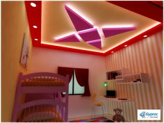 Looking for designer Residential False Ceilings? Check out Saint Gobain Gyproc's classy & extensive range of Residential False Ceiling designs for bedroom, living room, kitchen & kids room.