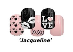Oooh and Ahh with a flirty kiss here and there, with the occasional Love now and again. #nas #mixemani #hearts #jacqueline #love #hearts #lips #kiss #pink #jamberry #nails #valentinesday #valentinenails #nails