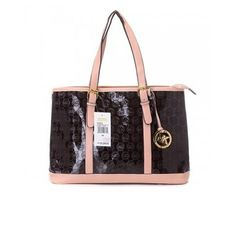 Cheap Michael Kors Women Amangasett Straw Large Coffee Totes Outlet Online Sale.