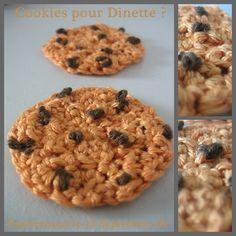 Dinette : faire cookies au crochet ! - Que Cache Ma Boite à Belette ?