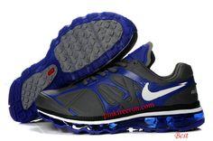 on sale 5f51c cd0b5 Nike Air Max 2012 Leather Metallic Slvier Old Royal White Nike Shoes Cheap,  Nike Free
