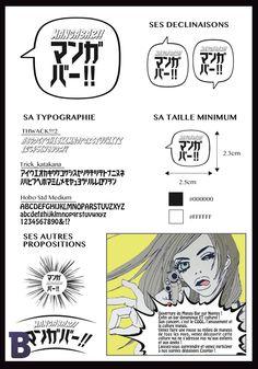 2A - Identité visuelle Bar - © Moe Wada