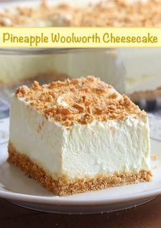 Fluff Desserts, Köstliche Desserts, Icebox Desserts, Health Desserts, Delicious Desserts, Woolworth Cheesecake Recipe, Keto Cheesecake, Raspberry Cheesecake, Light Cheesecake