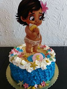 Moana Themed Party, Moana Birthday Party, Moana Party, Fall Birthday, Birthday Party Themes, Moana Decorations, Festa Moana Baby, Bolo Moana, Hawiian Party