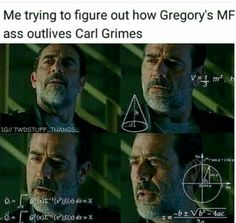 How Gregory out lives Carl - TWD - the walking dead