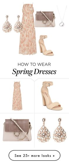 """Flowers"" by rabiaheart-13 on Polyvore featuring Brock Collection, Call it SPRING, Chloé, Tiffany & Co. and Latelita"