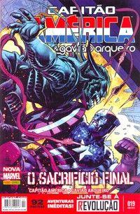 LIGA HQ - COMIC SHOP CAPITÃO AMÉRICA & GAVIÃO ARQUEIRO (MARVEL NOW)  #19 - Capitão América - Marvel PARA OS NOSSOS HERÓIS NÃO HÁ DISTÂNCIA!!!