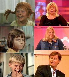 Inger Nilsson (Pippi), Maria Persson (Annika) and Per Sundberg (Tommy) Pippi Longstocking, Stars Then And Now, Comedy Tv, Good Movies, Movies And Tv Shows, Childhood Memories, Sweden, Star Wars, Beautiful People