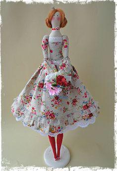 Muñeca Interior textil Tilda por LilyDollsGifts en Etsy