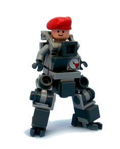 Bowbrick's Bobsuit, A Tiny Lego Mech Suit - Bowbrick's Bobsuit, A Tiny Lego Mech Suit Estás en el lugar correcto para diy Aquí presentamos d - Lego Mecha, Robot Lego, Lego Bots, Lego Bionicle, Lego Lego, Cuadros Star Wars, Lego Machines, Lego Creative, Micro Lego