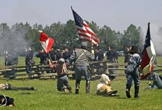 Battle of Pleasant Hill - a yearly Civil War battle reenactment