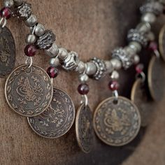 Bedouin style necklace from the Jerusalem Fever Boutique