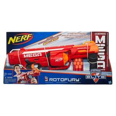 Amazon.com: Nerf N-Strike Mega Series RotoFury Blaster: Toys & Games