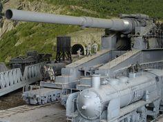 "WW2 German ""Dora"" Rail Siege Gun"
