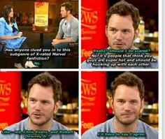 haha gotta love Chris Pratt!