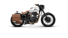 Royal Enfield Reveals Four Custom Builds - Royal Enfield bikes carry a singular character with the appeal of the bygone golden period. However whenever you add customisation to a Royal Enfield, the bike defies previous and boring styling cues. Motos Royal Enfield, Enfield Bike, Enfield Motorcycle, Motorcycle Style, Motorcycle Accessories, Bobber Motorcycle, Custom Motorcycle Builders, Custom Bikes, Custom Builders