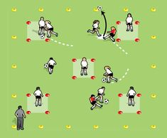 Get those soccer brains ticking over with this great game that covers dribbling, running with the ball, accurate passing, changeovers, first touch into space. Soccer Skills For Kids, Soccer Practice Drills, Soccer Games For Kids, Girls Soccer, Soccer Sports, Nike Soccer, Soccer Cleats, Pe Games, Youth Soccer