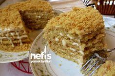 Bal Kaymak Pastası Tarifi nasıl yapılır? 16.097 kişinin defterindeki Bal Kaymak Pastası Tarifi'nin resimli anlatımı ve deneyenlerin fotoğrafları burada. Yazar: Arzu Ayla