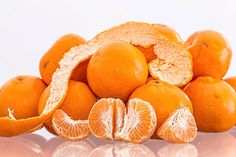 """Tangerine smoothie for healthy """"flu-less"""" winter"""