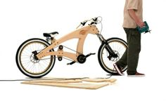 DIY Bike. I want one.