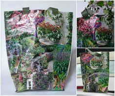 gkkreativ: DIY  Recycling-Tasche aus alten Zeitschriften