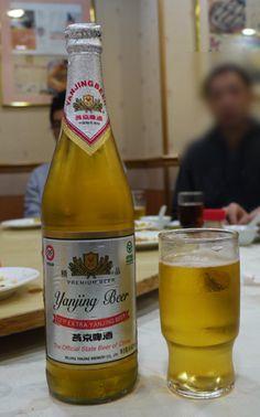 Yanjing - popular beer in China!
