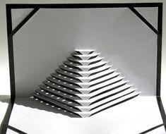 Pop-Up Origamic Architecture maison décor carte à la par BoldFolds