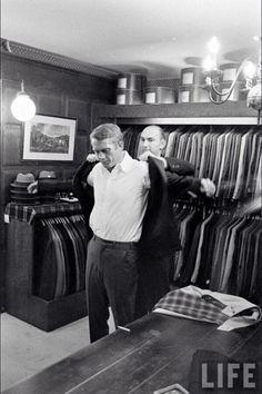 For The Modernist — Steve McQueen keeping it sharp !