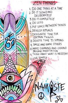 """""""Zen Things"""" via Sara Walpert Foster"""