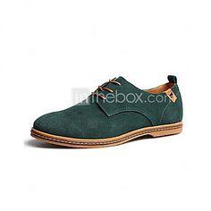 Hombre-Tacón Plano-Confort-Oxfords-Informal-Ante- 2017 - $18383 Lace Up Shoes, Dress Shoes, Oxfords, Sneakers Fashion, Derby, Men Dress, Oxford Shoes, Flats, Casual