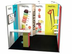 Stand modulaire avec 9m² stand  reconfigurable-13