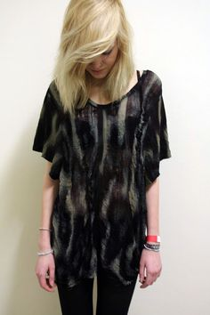 COMMEONVEUT, SHREDDED SHIRT GRUNGE SLOUCH VINTAGE MUD: changed my mind, this is my favorite one. #commeonveut #etsy $193.72