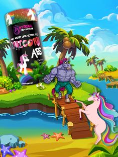 Mythical Nutrition Unicorn ABS Fat Burner by Insane Labz, Bioperine Dandelion Root Extract Beta Alanine Caffeine Vitamin B Fueled by AMPiberry, 60 Servings Dandelion Root Extract, Big Muscle Training, Beta Alanine, Get Shredded, Social Media Games, Best Supplements, Fat Burner, High Level, Dreaming Of You