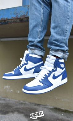 quality design 8313c 65b72 The Air Jordan 1 Retro High OG  Storm Blue  is back for the first time  since it debuted back in