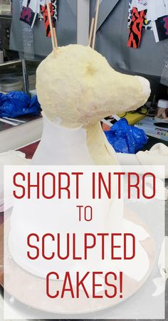 Short introduction to sculpting cakes including a dog cake from Pink Cake Box employee Anna Puchaski!