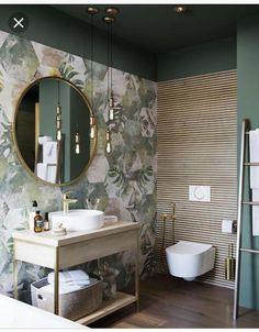 Small Bathroom Renovations 601863937691957017 - The Tropical Deco Room by Benjamin Decoceram Source by Bad Inspiration, Bathroom Inspiration, Interior Inspiration, Modern Bathroom Design, Bathroom Interior Design, Minimal Bathroom, Eclectic Bathroom, Bathroom Designs, Estilo Tropical