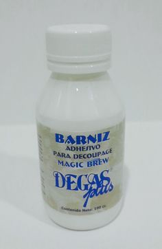 Barniz adhesivo para Decoupage #degasplus
